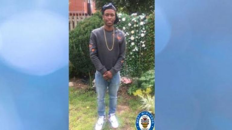 Kimani Martin, 18, is the latest teen to be killed. Pic: West Midlands Police