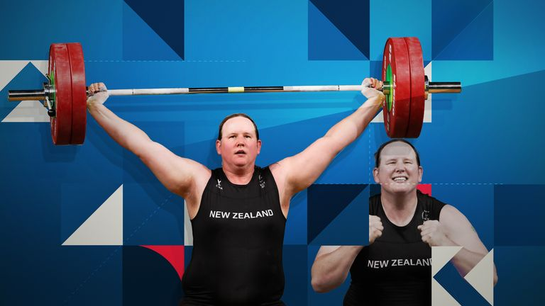 Transgender weightlifter Laurel Hubbard is competing in the women's super-heavyweight division