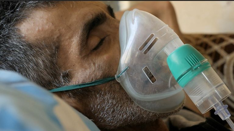 Walid had cancer a year ago and that might have returned, but without a diagnosis, they have no real idea