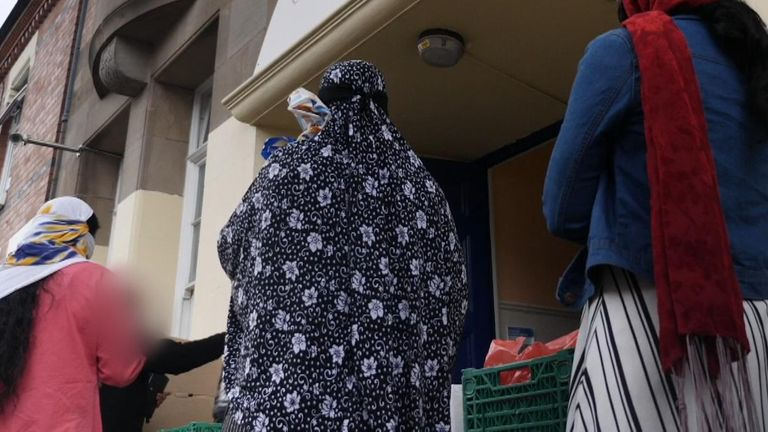 food bank in Leicester