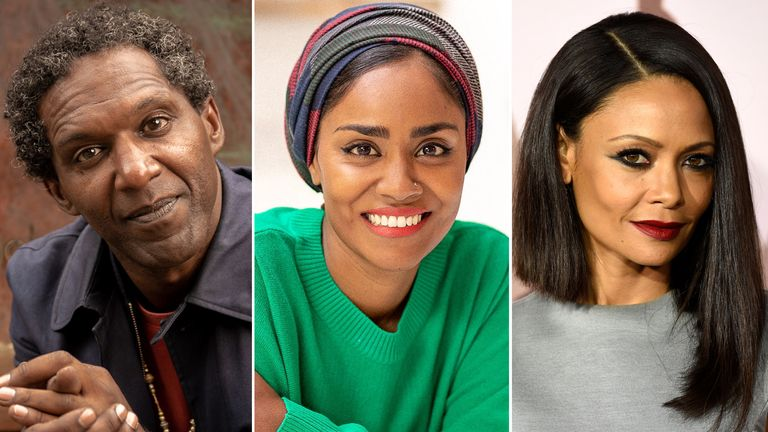 Lemn Sissay, Nadiya Hussain and Thandiwe Newton are among several stars backing a the WaterAid Our Climate Fight campaign. Pics: Slater King/ Chris Terry/ Chris Pizzello/Invision/AP