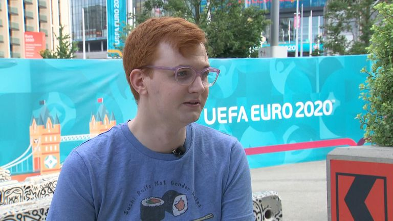 Joe said the response to his make up at Wembley was overwhelming positive