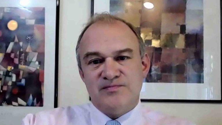 Lib Dem leader Ed Davey