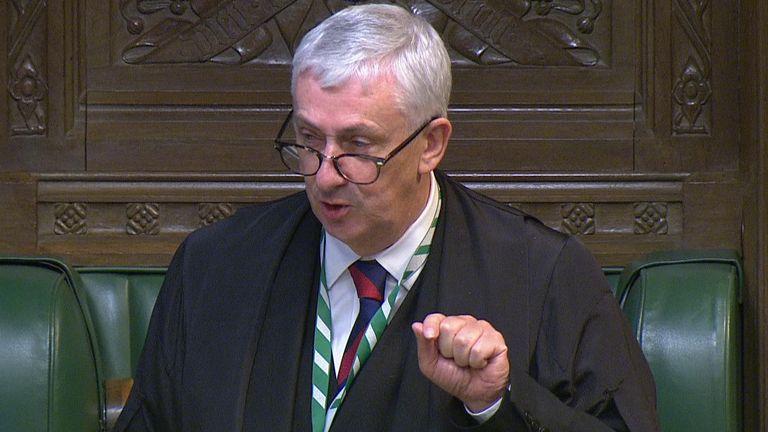 Speaker of the House of Commons