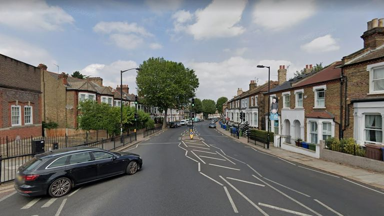 The woman was stabbed to death on Lordship Lane. Pic: Google Maps
