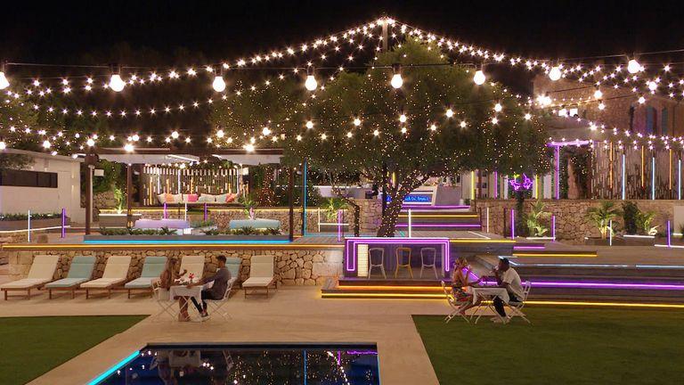 The Love Island villa in Majorca. Pic: ITV/Lifted Entertainment