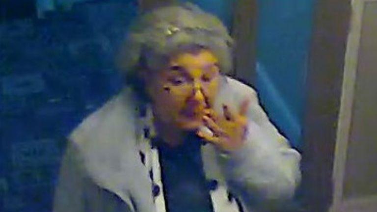 Lulu Lakatos at Cricklewood hotel. Pic: Met Police