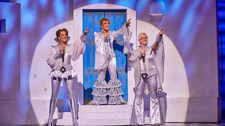 Mamma Mia reopens in August. Pic: Brinkhoff/Mogenburg