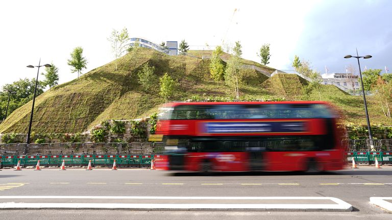 The Marble Arch Mound in central London has opened to a chorus of criticism