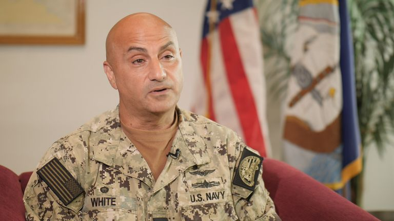 Capt. Samuel White, Naval Station Guantanamo Bay Commander