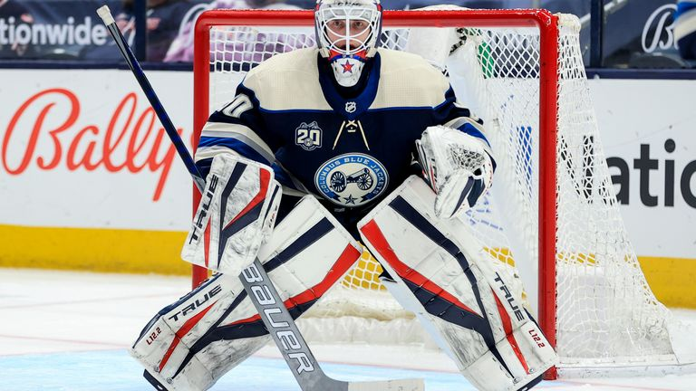 Kivlenieks played for Columbus in North America's National Hockey League (NHL)