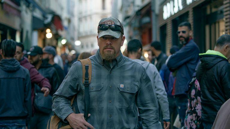 Matt Damon stars as Bill in Stillwater. Pic: Focus Features