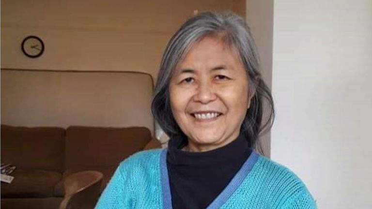 Mee Kuen Chong, known as Deborah, was found in woodlands in Salcombe. Pic: MPS Brent