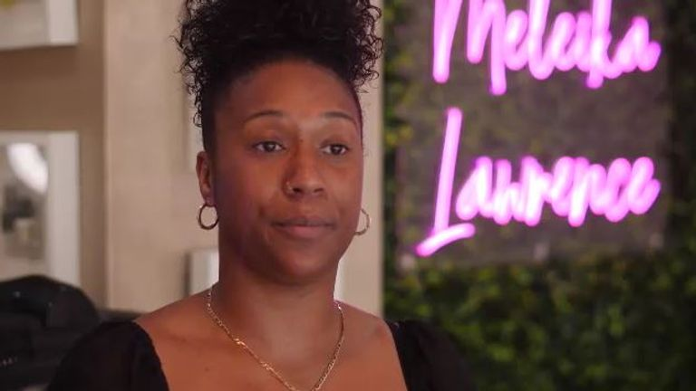 Meleika Lawrence owns a hair salon in Manchester where she specialises in Afro hair, but she trains her staff to work with all hair types.