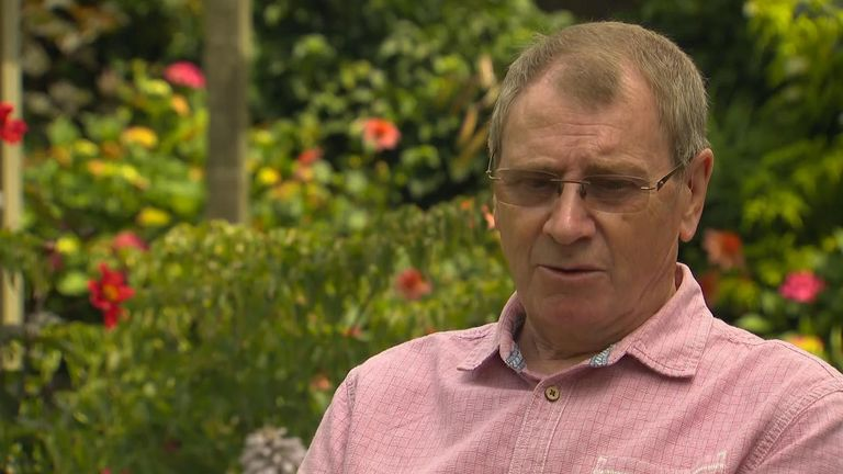 Sid Mackay, who himself is a former chief superintendent, lost his daughter Nina Mackay in 1997