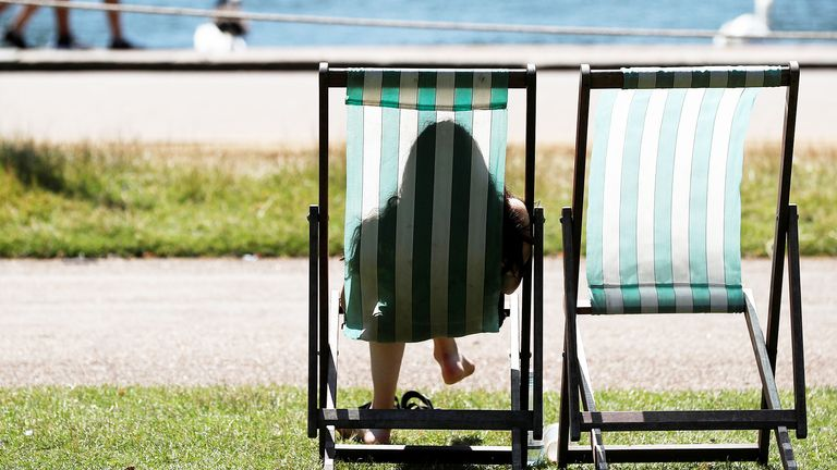 Met office warns of hotter, sunnier and wetter weather due to climate change