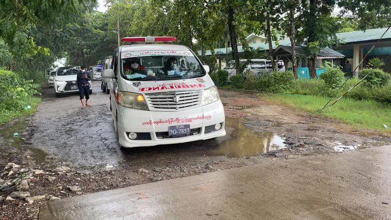 ambulance Myanmar body collectors ftx