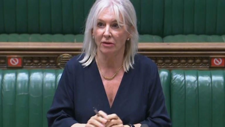 Health minister Nadine Dorries
