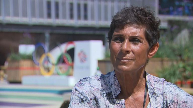 Former Olympian Fatima Whitbread says the Olympics are not the place for politics and we should focus on sport bringing people together.