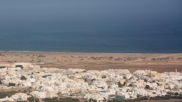 A costa de Omã (arquivo foto)