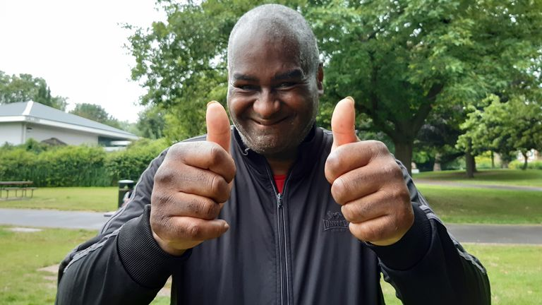 Paul Williams, 63, was happy to be back to complete his 78th Parkrun