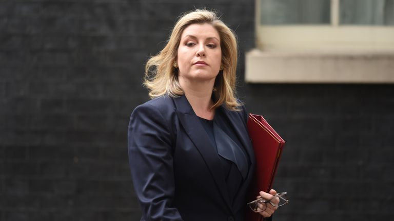 Cabinet Office minister Penny Mordaunt
