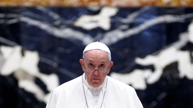 Pope Francis personally approved the judge's decision to investigate and indict Becciu