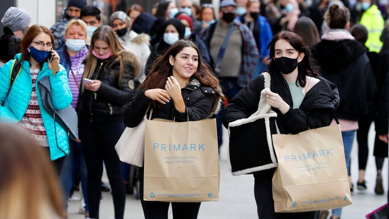 Some Primark stores will be offering COVID-19 vaccines this weekend