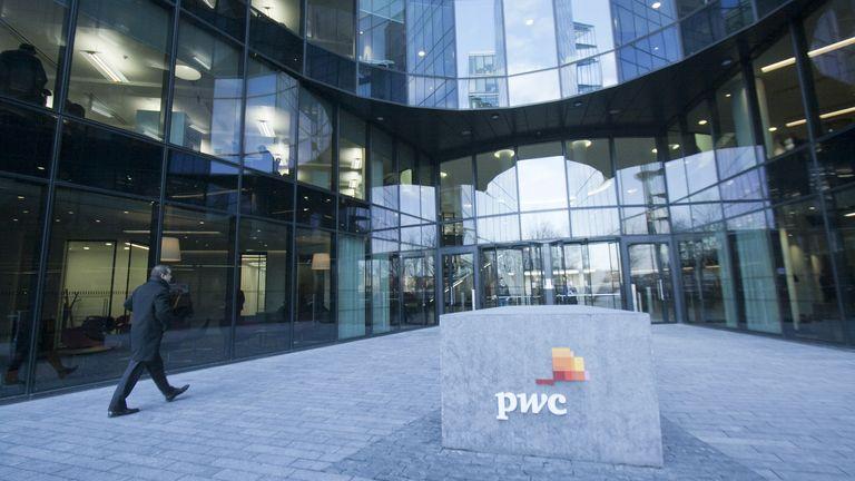 PwC headquarters in London