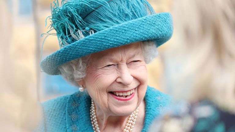The Queen spoke to members of the ITV soap's cast and crew