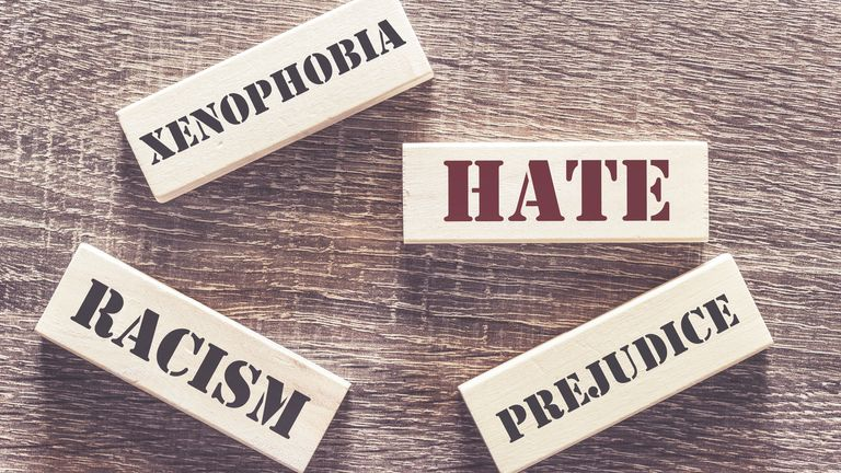 Racially and religiously motivated hate crimes have increased