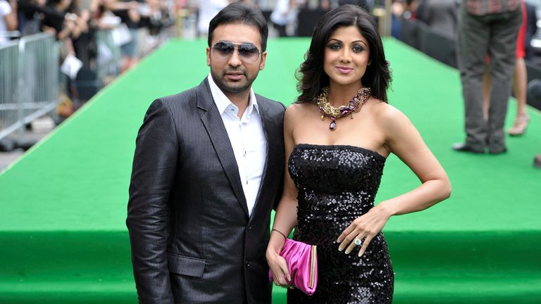 Raj Kundra is married to Bollywood superstar Shilpa Shetty. Pic: Reuters