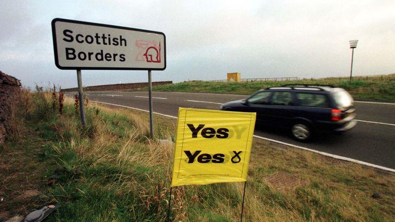 A referendum on Scottish devolution was held in 1997