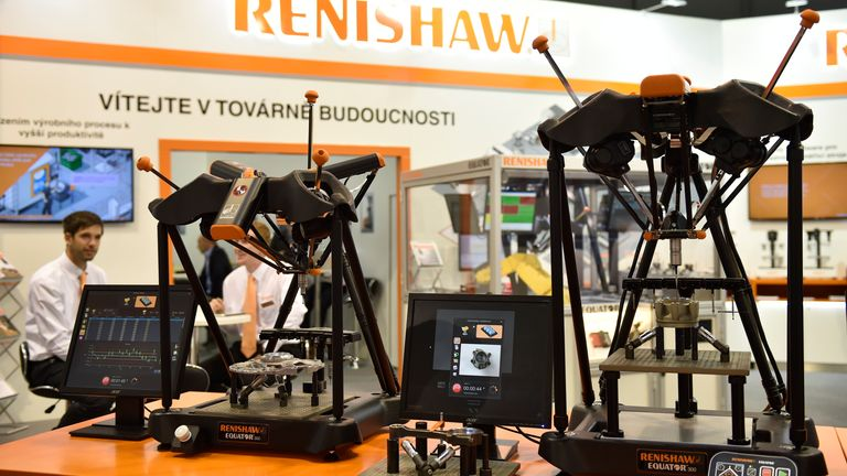 Renishaw has a presence in 37 countries and employs more than 4,400 staff. Pic: AP
