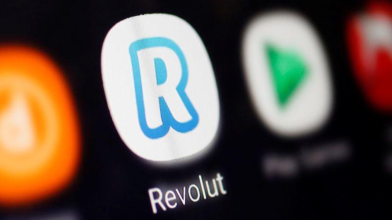 A Revolut logo