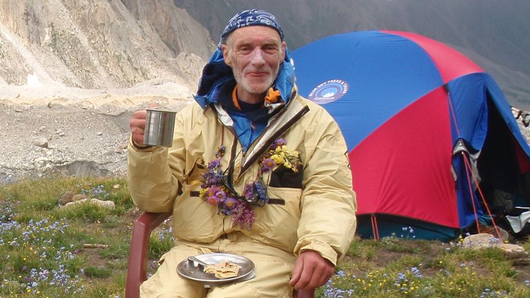Rick Allen, 68, has died after being swept off K2 by an avalanche