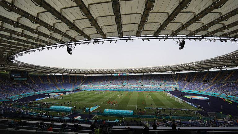 The Stadio Olimpico in Rome