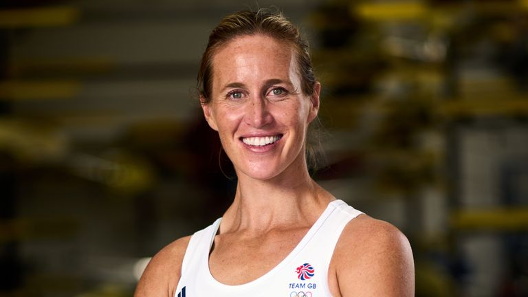 Glover retired from rowing four years ago but decided to return last year