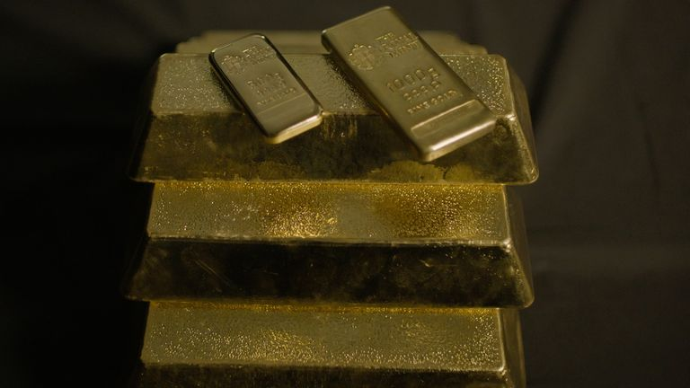 The Royal Mint said its financial performance was bolstered thanks to a surge in demand for gold and silver investment