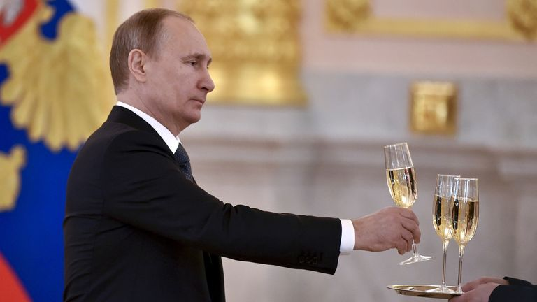 The new Russian law has sparked controversy. File pic