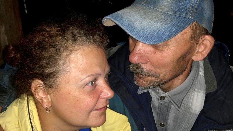 Mrs Safronova's husband has also had COVID-19