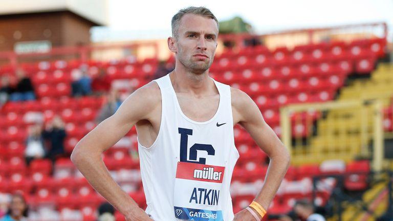 Sam Atkin will run the 10,000m