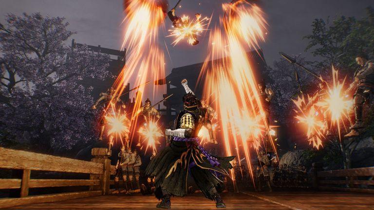 Samurai Warriorsgame, the fifth instalment hits European markets today.