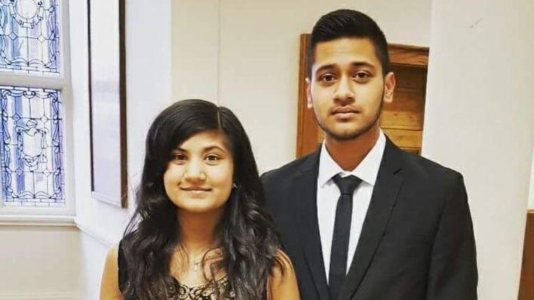 Saroj Patel family pic