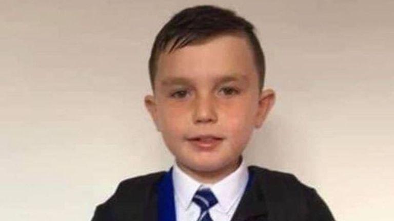 Dean Irvine, 11, died in Scotland