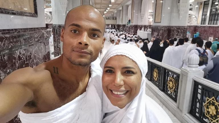 Sebastian Eubank and Salma Abdelati