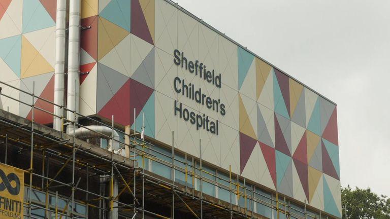 Sheffield Children's Hospital exterior