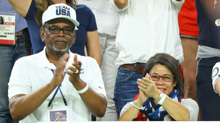 Simone Biles' grandparents Ron and Nellie are her adoptive parents