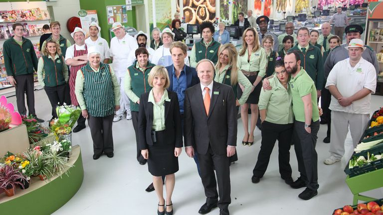 Trollied is one of the shows that began life on Sky One. Pic: Jon Hall/Sky