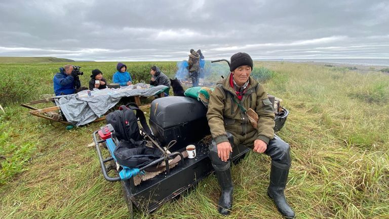 The Chukchi people are indigenous to Russia's Far East